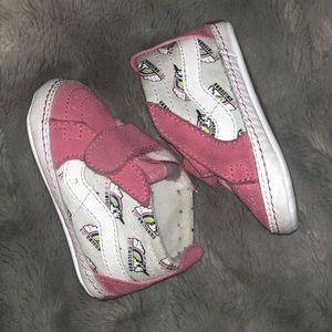 Baby Girl Vans (Unicorn Print)